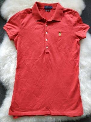 hellrotes Poloshirt Shirt T-Shirt Polo Ralph Lauren Größe 36 s, wie neu ‼️‼️passgenau#super Stretch#