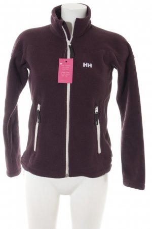 Helly hansen Gilet polaire rouge mûre style athlétique