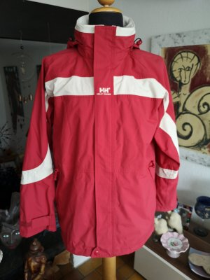 Helly hansen Raincoat natural white-red