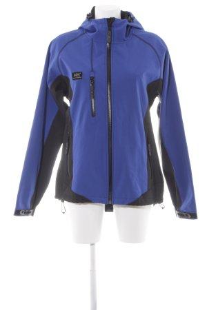 Helly hansen Outdoorjacke stahlblau-schwarz sportlicher Stil