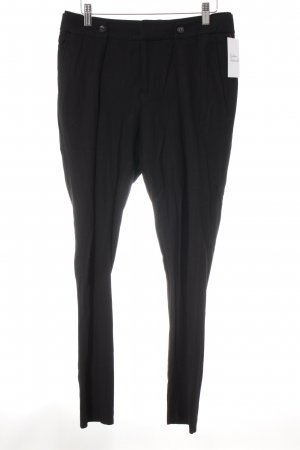 Helmut Lang Bundfaltenhose schwarz Business-Look
