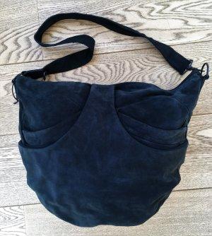 Helmut Lang Sac porté épaule noir cuir