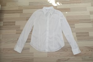 HELMUT LANG Hemd aus Baumwolle in weiß, klassisch, tailliert, mit verdeckter Knopfleiste, ital. 44 oder EUR 40