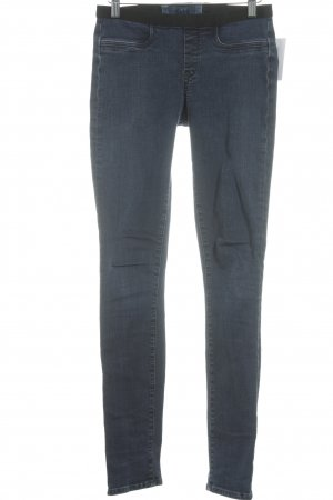 Helmut Lang Jeggings dunkelblau Street-Fashion-Look