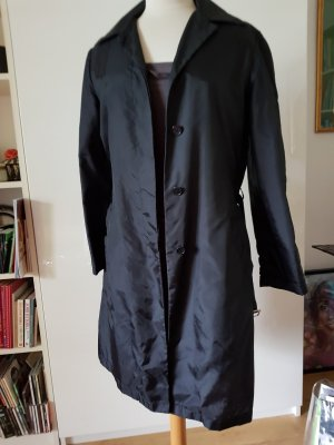 Helmut Lang Manteau de pluie noir polyester
