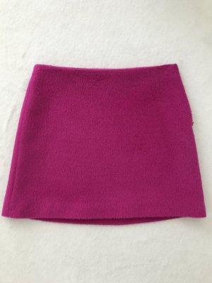 HELMUT LANG Rock Pink Magenta   34, 2   Wolle Alpaka