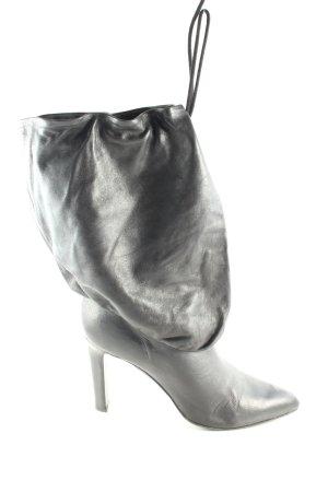 Helmut Lang Schlüpf-Stiefeletten schwarz extravaganter Stil