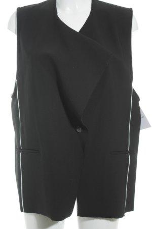 Helmut Lang Sportweste schwarz-weiß extravaganter Stil
