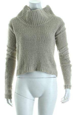 Helmut Lang Strickpullover beige Casual-Look