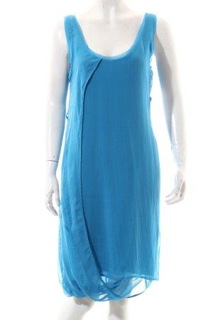 Helmut Lang Tunikakleid stahlblau Elegant