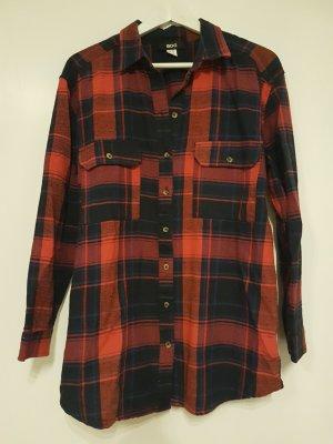 BDG Shirt Blouse red-blue