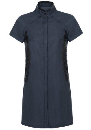 Robe chemise gris anthracite coton