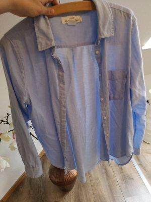 H&M Shirt met lange mouwen azuur