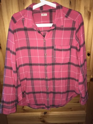Hollister Lumberjack Shirt raspberry-red-blackberry-red