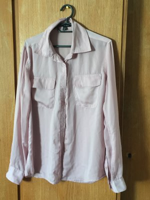 Amisu Long Sleeve Shirt rose-gold-coloured
