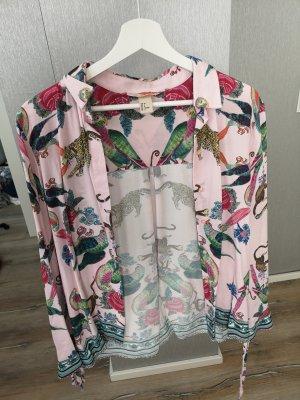 H&M Blusa-camisa rosa empolvado