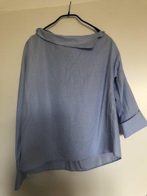 Zara Camisa de manga larga azul celeste