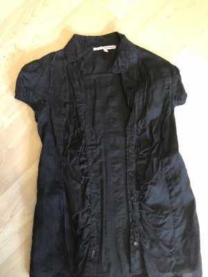 Camisa de manga corta negro