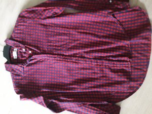 H&M Flannel Shirt red-blue