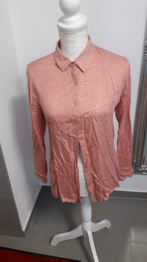 & other stories Camicia a maniche corte color oro rosa