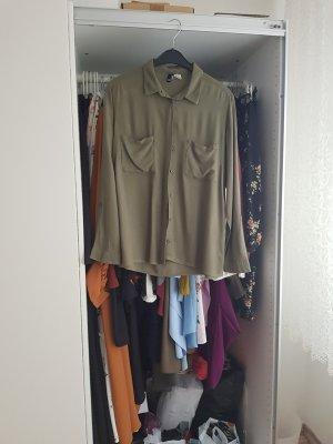 H&M Long Sleeve Shirt khaki