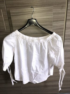 H&M Short Sleeve Shirt white