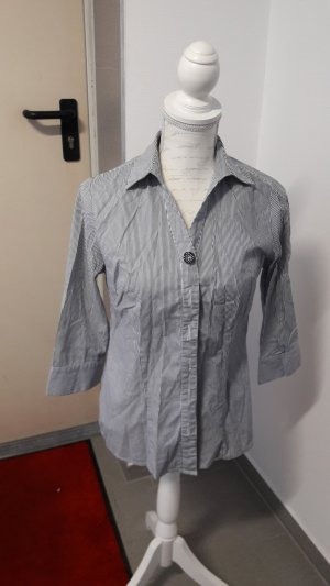 & other stories Camicia a maniche corte bianco-blu