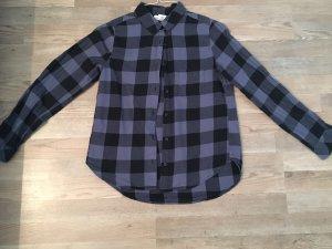 HM Camicia da boscaiolo nero-blu scuro