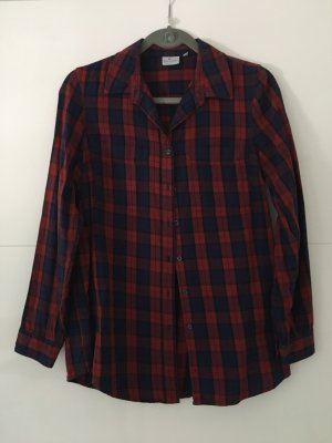 Blue Motion Lumberjack Shirt dark blue-dark red