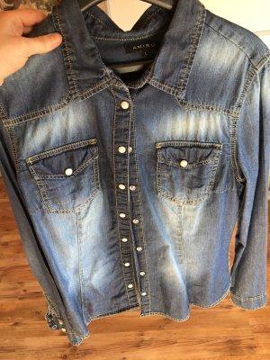 Amisu Denim Shirt blue