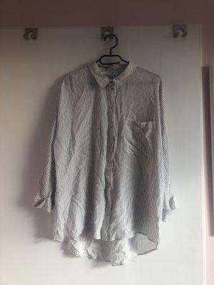 Promod Camicia blusa bianco-blu pallido
