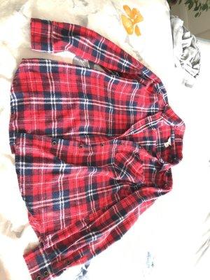 Forever 21 Camisa de leñador multicolor