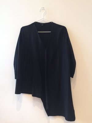 COS Long Sleeve Shirt black viscose