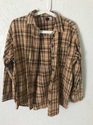 H&M Camicia da boscaiolo marrone-marrone chiaro