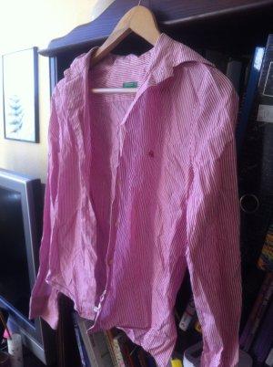 Hemd Benetton helles pink (rot-rosa) 36 wie neu
