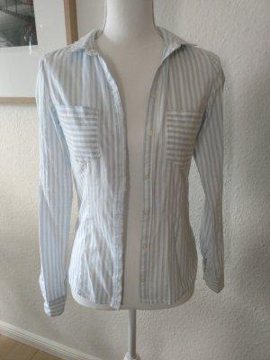 Hemd blau/weiß gestreift