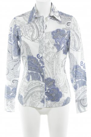 Hemdblouse abstract patroon elegant