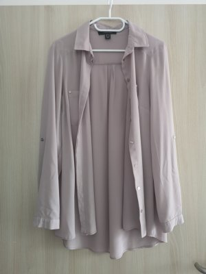 Atmosphere Hemdblouse grijs-lila