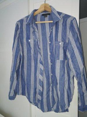 Hemd Bluse/ Blau  Gr. 40