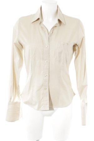 Hemd-Bluse creme klassischer Stil