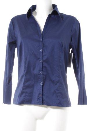 Hemd-Bluse dunkelblau Casual-Look
