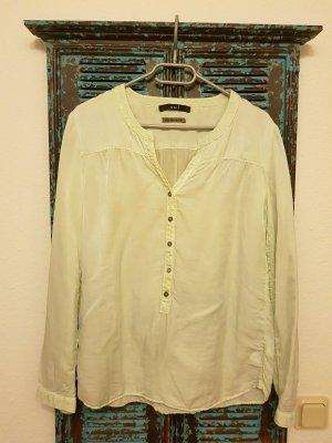 Hemd Bluse Gr. 36 silk blend