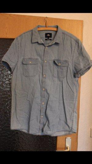 Hemd/Bluse Gr. L Jeanslook