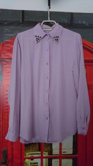Hemd Bluse hell lila