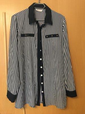 Hemd / Bluse in schwarz-weiß