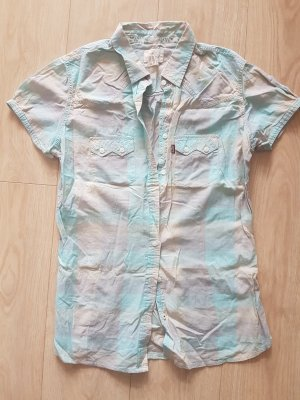 Levi's Short Sleeve Shirt pink-baby blue