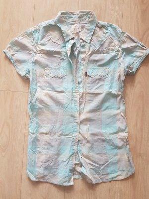 Levi's Camicia a maniche corte rosa pallido-celeste