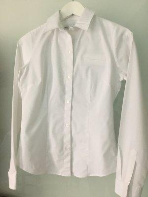Hemd Bluse Langarm weiß von Next stretch 34