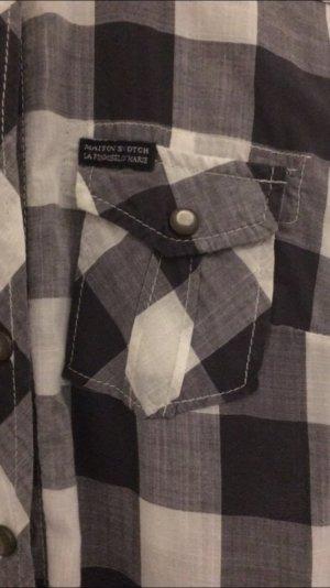 Maison Scotch Camisa de leñador multicolor