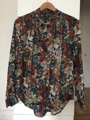 Hemd Bluse Mango Blumenprint XS